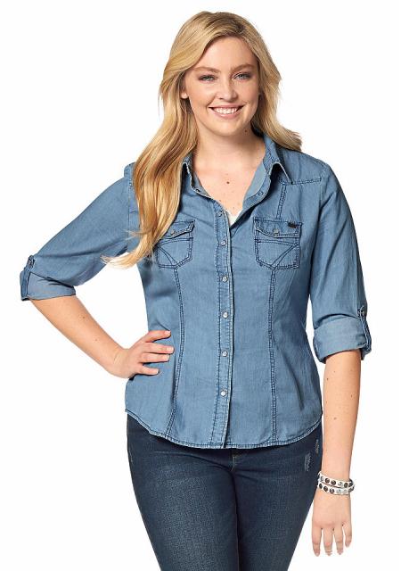 Джинсовая рубашка Arizona