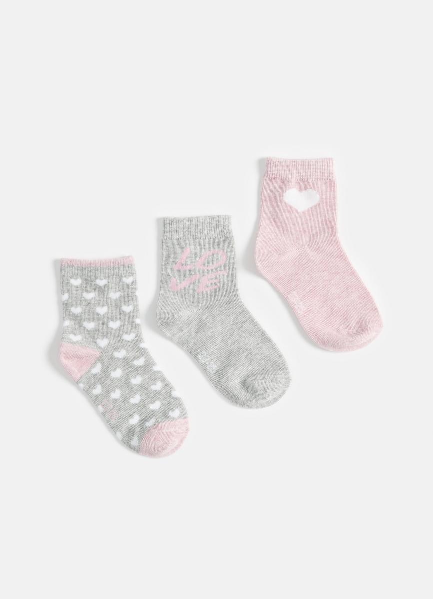 Комплект из 3 пар носков для девочек