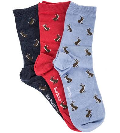 Комплект хлопковых носков